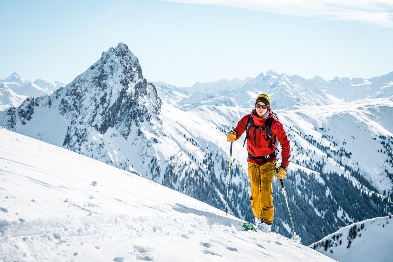 Skitourengehen in den Tiroler Alpen. (©Shutterstock)